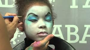monster high skelita halloween costume face painting skelita calaveras of monster high youtube
