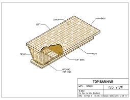 How To Build Top Bar Hive Standard Top Bars For The Beekeeper Bee Culture