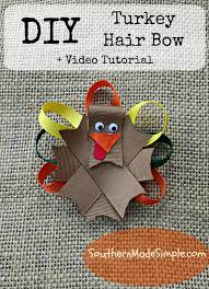 thanksgiving hair bows diy thanksgiving turkey hair bow tutorial