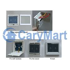 86 type ac220v lcd touch sensitive wall switch motor controller