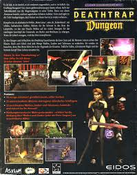 dungeon si e ian livingstone s deathtrap dungeon 1998 playstation box cover