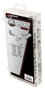 Decorative Wing Nuts Performance Tool W5219 Wing Nut Assortment 150 Piece Hardware