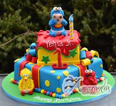 sesame birthday sesame birthday cake two tier sesame cake nc13