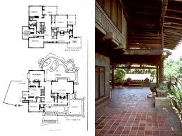 Pope Leighey House Floor Plan Greene And Greene Gamble House Plans House And Home Design