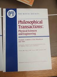 publishing the philosophical transactions the economic social