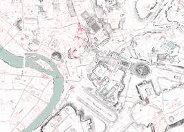 Urban Map This Enormous 100 Year Old Map Of Rome Is Still The City U0027s Best