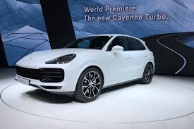 new 2018 porsche cayenne turbo unveiled u2013 an suv with a sub 4sec 0