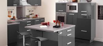 cuisine en gris meuble cuisine gris laque