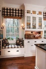 Checkered Kitchen Curtains Black And White Plaid Curtains Foter