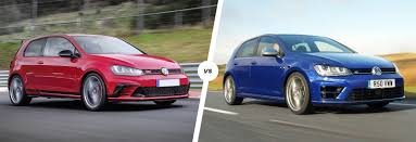 volkswagen tsi vs gti vw golf gti clubsport s vs golf r comparison carwow