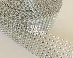 diamond mesh ribbon 10 yard gold mesh ribbon wedding mesh punchinello wedding
