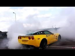 corvette zr1 burnout 800hp corvette zr1 with corsa exhaust burnout