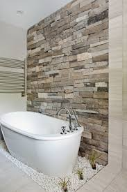 Tile Bathroom Wall Ideas by Best 25 Stone Bathroom Ideas On Pinterest Spa Tub Master
