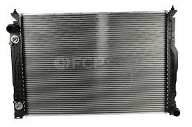 audi radiator audi radiator a6 allroad genuine vw audi 4z7121251b fcp