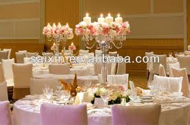 wedding candelabra centerpieces beautiful candelabras with flower plate for wedding