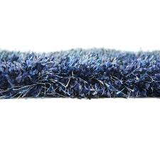 Rugs Navy Blue Shaggy Plain Soft Carpet Area Rugs Navy Blue 2 U0027 7 X 10 U0027 Luxe Solo