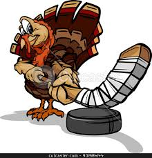 happy thanksgiving sports turkey