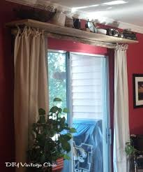 diy vintage chic no sew curtains and window treatment