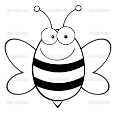 bee coloring colouring pages vladimirnews me