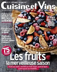 cuisines et vins achat magazine cuisine et vins de n 177 en numérique