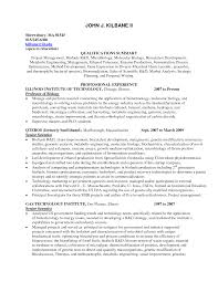 Resume Format For Experienced Assistant Professor How To Make Your Resume Stand Out American Document Environmental