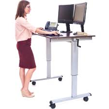 Standing Desk Laptop by Luxor Standup Cf48 Dw 48