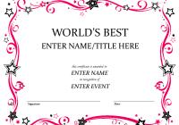 best employee certificate format best and various templates design