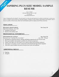 Child Modeling Resume Sample by Model Resume Examples