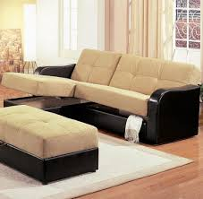 Sectional Sofa With Storage Chaise Sleeper Sofa With Chaise And Storage Russcarnahan Com
