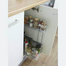 panier coulissant pour meuble de cuisine rangement meuble cuisine génial panier cuisine coulissant finest