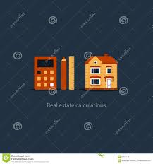 House Maintenance Calculation Icon Living Expenses Real Estate