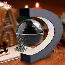 best world globe light night lights c shape led world map floating