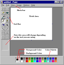 how to change the color of a clipart image microsoft paint free