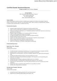 dental assistant resume template entry level dental assistant resume dental assistant resume 4