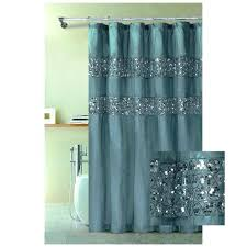 Teal Colored Shower Curtains Teal And Purple Curtains Teawing Co