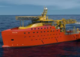 the motorship wind farm support vessel for østensjø rederi