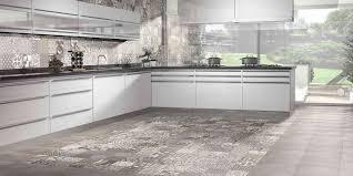 Porcelain Kitchen Floor Tiles Tapis Modern Patterned Floor Tile