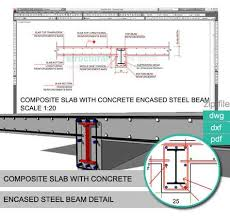Residential Steel Beam Span Table by Composite Slab With Reinforced Concrete Encased Steel Beam