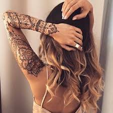 and hair bild tattoos