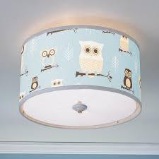 Baby Room Lighting Owls Drum Shade Ceiling Light Drum Shade Ceiling And Drums