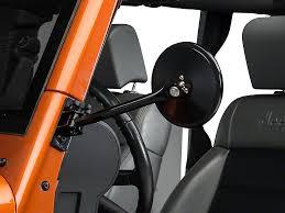 jeep wrangler door mirrors rugged ridge wrangler release black mirror single