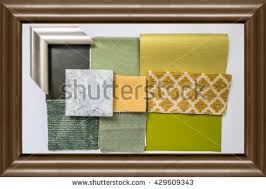 modern architecture interior luxury hallway glossy stock photo