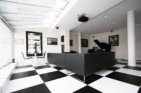extraordinary black and white office modern design loversiq