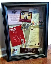 Create A Wedding Program Create A Shadow Box Of Your Save The Date Bridal Shower Wedding