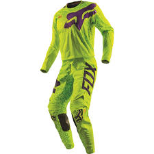 motocross fox helmets fox racing 2016 360 cauz jersey and pant package yellow