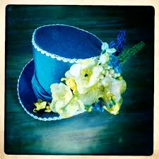 twobackflats mini top hats for tea goers