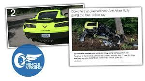 police corvette corvette z06 featured on popular youtube channel vehicle virgins