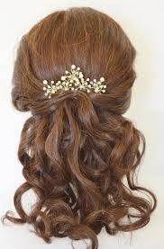 prom hair accessories pearl bridal hair pins customised wedding hair