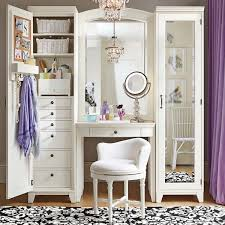 White Vanity Table With Mirror Dressing Table Vanity With Mirror And Shelves For Storage Ana