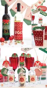 Ugly Christmas Sweater Party Decoration Ideas by Lindsey Mattson Big Dot Of Happiness